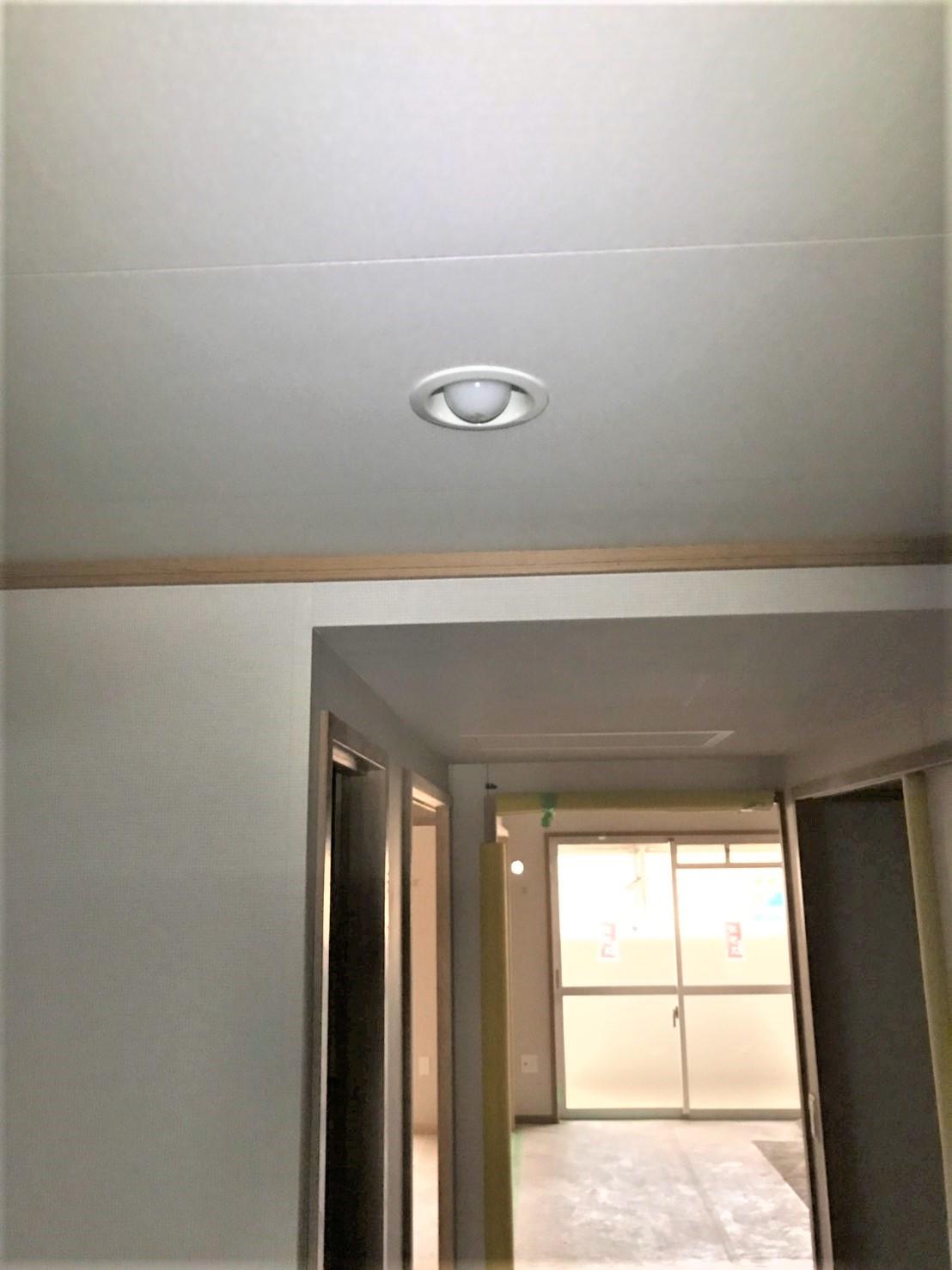 照明器具取付工事4